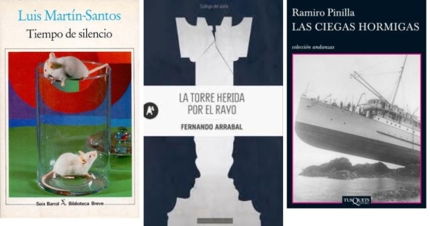 52 Spanien, Ehrengast Gastland Frankfurter Buchmesse 2021 - Luis Martin-Santos, Fernando Arrabal, Ramiro Pinilla