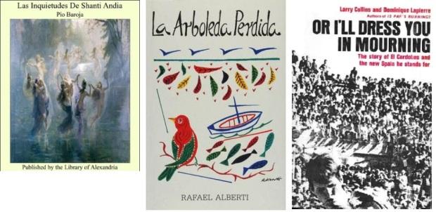 54 Spanien, Ehrengast Gastland Frankfurter Buchmesse 2021 - Pio Baroja, Rafael Alberti, Larry Collins