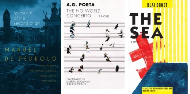 57 Spanien, Ehrengast Gastland Frankfurter Buchmesse 2021 - Manuel de Pedrolo, A.G. Porta, Blai Bonet.jpg