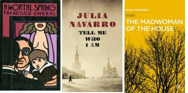58 Spanien, Ehrengast Gastland Frankfurter Buchmesse 2021 - Francisco Umbral, Julia Navarro, Rosa Montero.jpg