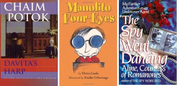 63 Spanien, Ehrengast Gastland Frankfurter Buchmesse 2021 - Chaim Potok, Elvira Lindo, Aline
