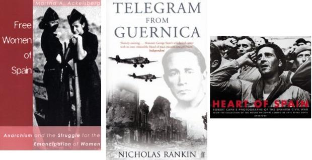 65 Spanien, Ehrengast Gastland Frankfurter Buchmesse 2021 - Martha Ackelsberg, Nicholas Rankin, Robert Capa